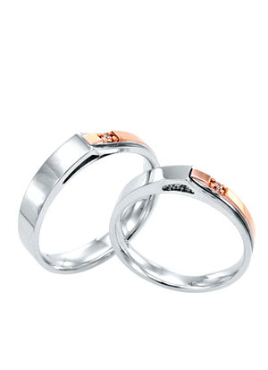 [14K Gold]이베리스 커플링Iberis Couple ring j3692