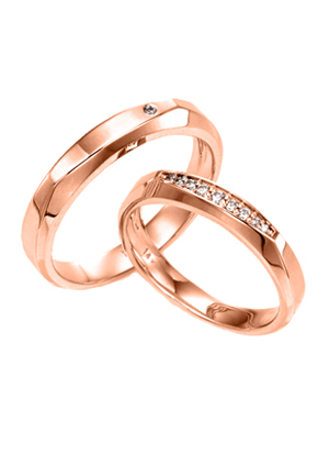 [14K Gold]아젤리아 커플링Azalea Couple ring j4110