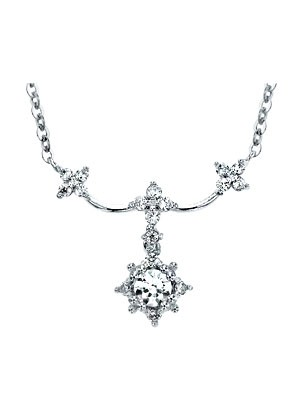 [14K Gold]프로즌 스노우 목걸이Frozen snow necklace j3260