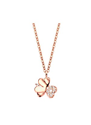[14K Gold]클로버 드림 목걸이Clover dream necklace j3706