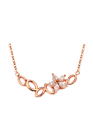 [14K Gold]도나 플라워 목걸이Dona flower Necklace j3811