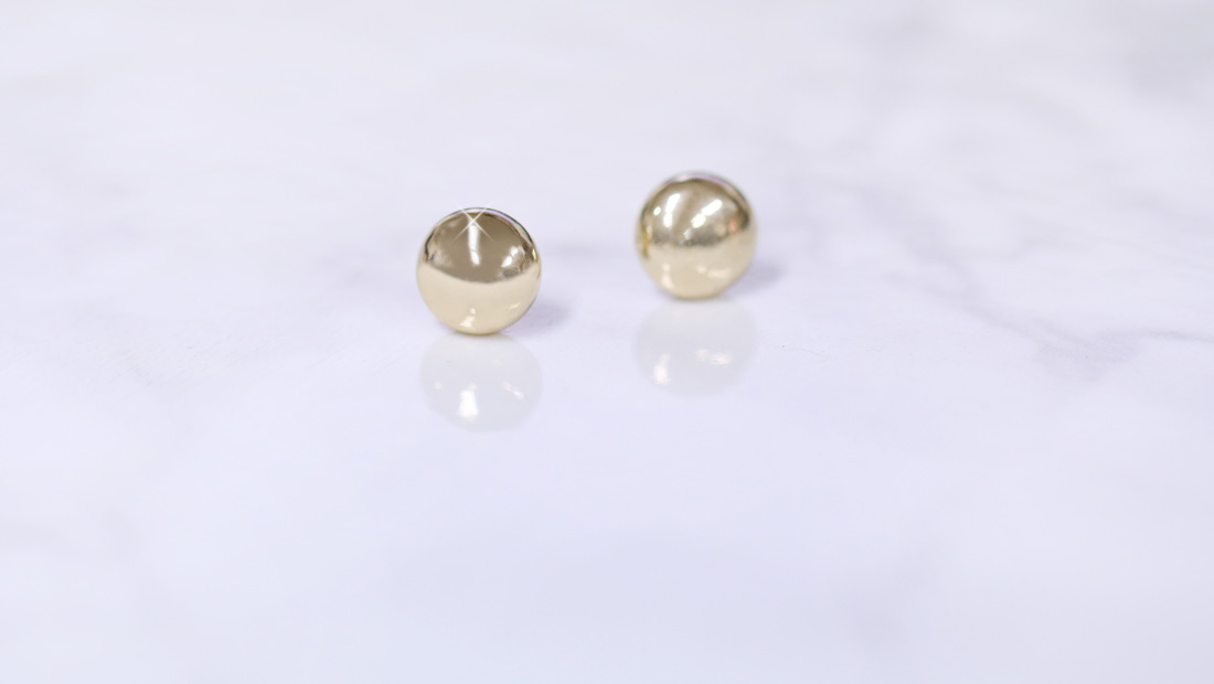 [14K/18K] Chubby Ball Earring 쳐비 볼 귀걸이