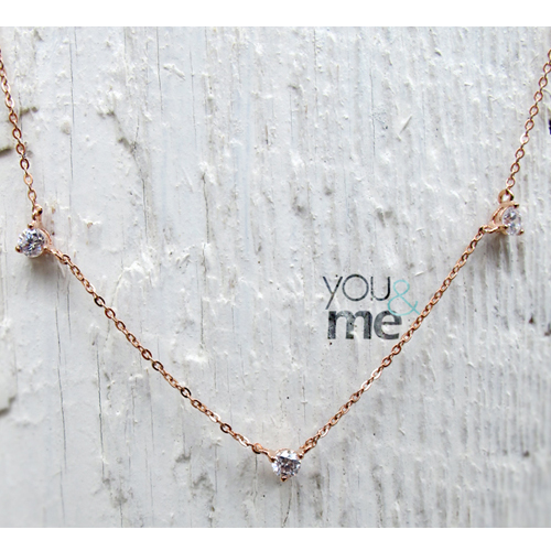 [14K Gold]유앤미 목걸이 You & Me Necklace no.20