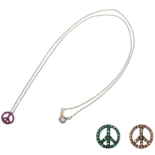 [14K Gold] 피스피 목걸이 Peace:P Necklace no.28