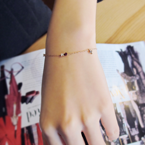 [14K Gold] 어바웃 츄 팔찌 About `Chu Bracelet no.12