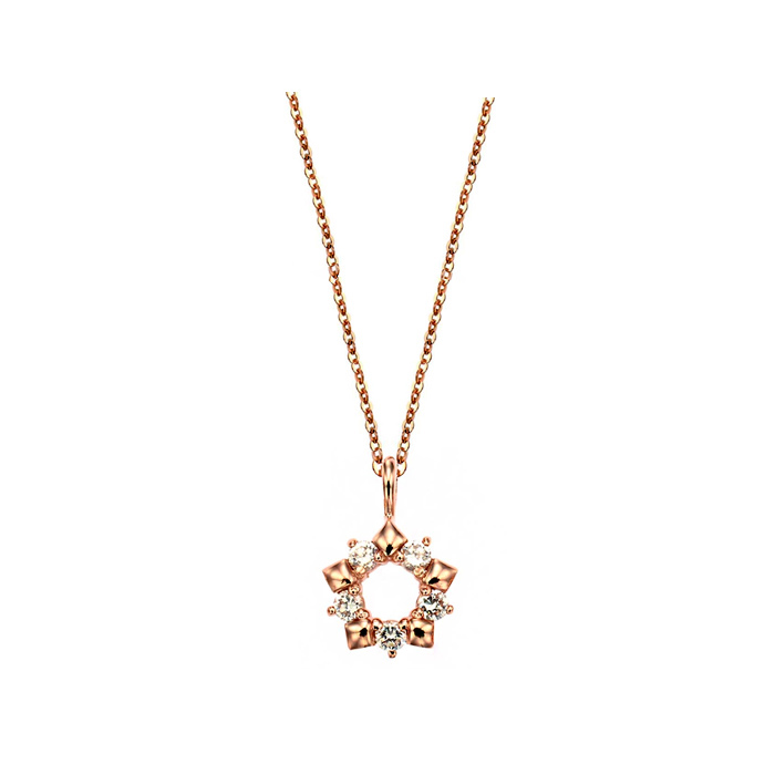 [14K Gold] 퓨어 스노우 목걸이 Pure Snow Necklace no. j3701