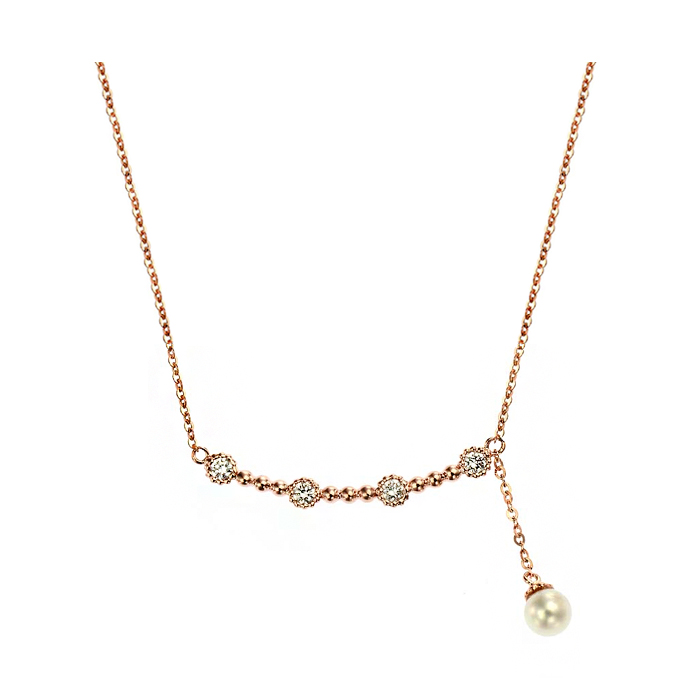 [14K Gold] 시크릿 포인트 목걸이 Secret Point Necklace no. j3857