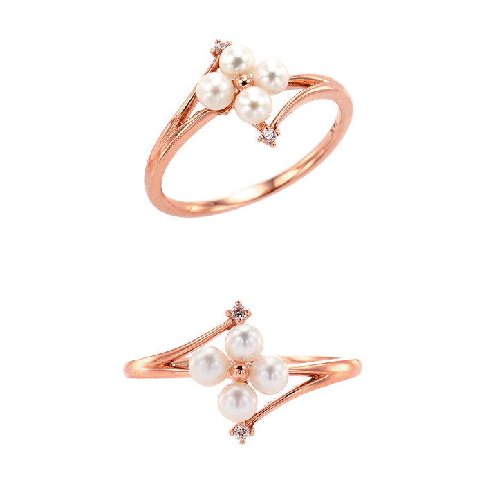 [14K Gold] 모모 플라워 반지 Momo Flower Ring no.j3847