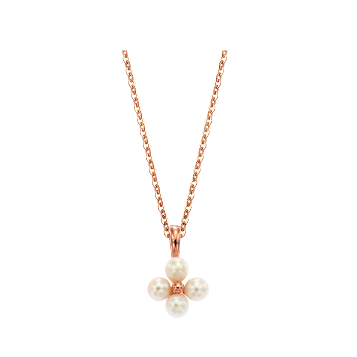 [14K Gold] 모모 플라워 목걸이 Momo Flower Necklace no.j3847