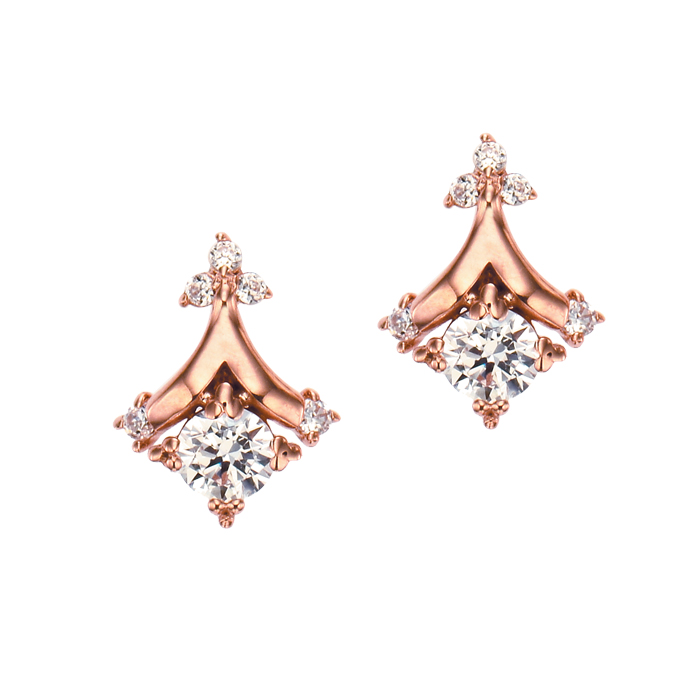 [14K Gold] 줄리아나 귀걸이 Juliana Earring no.j3357