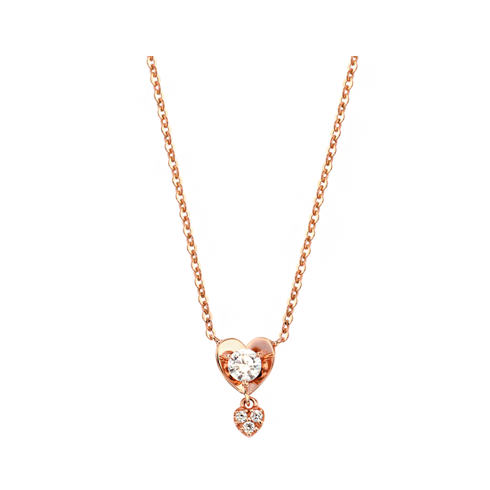 [14K Gold] 마이 스파크 하트 목걸이 My Spark Heart Necklace no.j3211