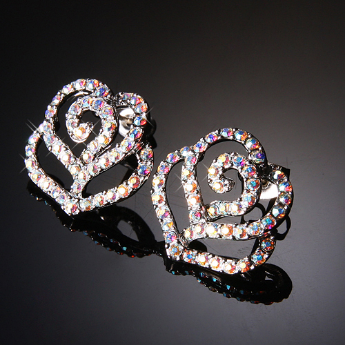 (Silver)정품 스왈 러브 샤베트 이어링 Swarl Love Sherbet Pierced Earrings