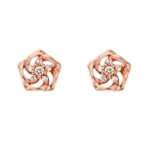 [14K Gold]산샤 플라워 귀걸이Sansha flower Earring j3809