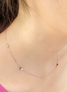 [14K Gold] 하트송 목걸이 Heart Song Necklace no.18