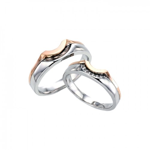 [14K Gold]아스터 커플링Aster Couple ring j4035