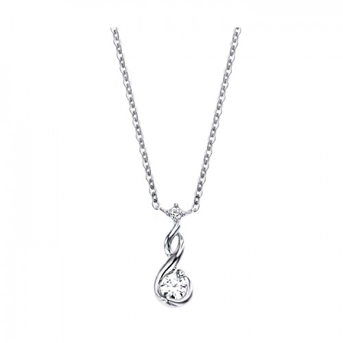 [14K Gold]아쿠아 스톤 목걸이Aqua stone necklace j3209