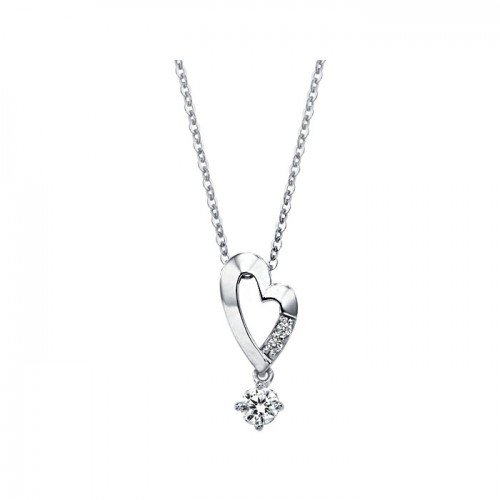 [14K Gold]에바 하트 목걸이Eva heart necklace j3308