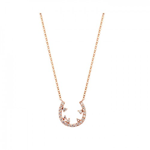 [14K Gold]문 나이트 목걸이Moon night Necklace j3644