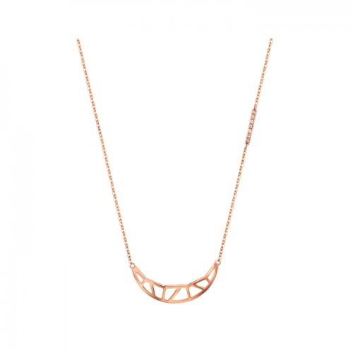 [14K Gold]골드 문 목걸이Gold moon Necklace j3820