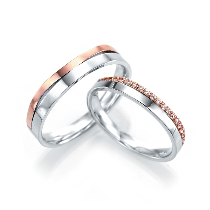 [14K Gold] 엣지 심플리 커플링 Edge Simply Couple Ring no.j3271